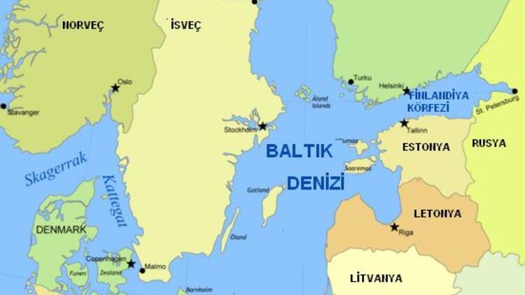 En Tuzsuz deniz Baltık Denizi Nerede