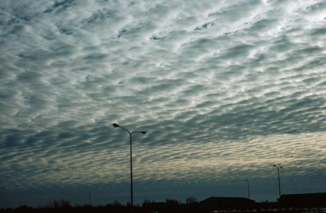 Altocumulus (Altokümülüs) bulutu