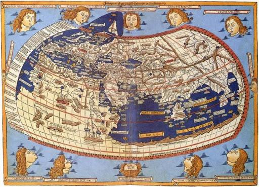 Batlamyus Dünya Haritası