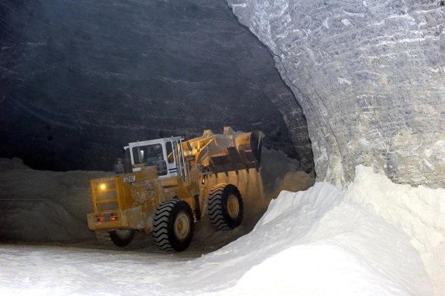 kaya Tuzu Üretimi Çankırı Tuzu