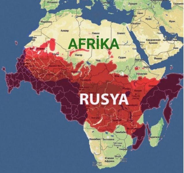 Haritalar Afrika Kıtası'nı ve bazı ülkeleri hatalı gösteriyor.