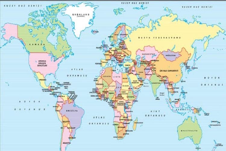 Alansal Olarak Dünya'nın En Geniş Ülkeleri Nerelerdir