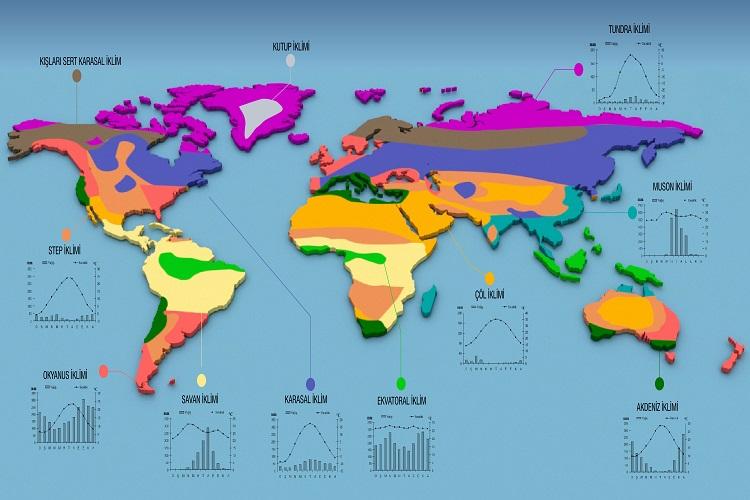 Büyük İklim tipleri