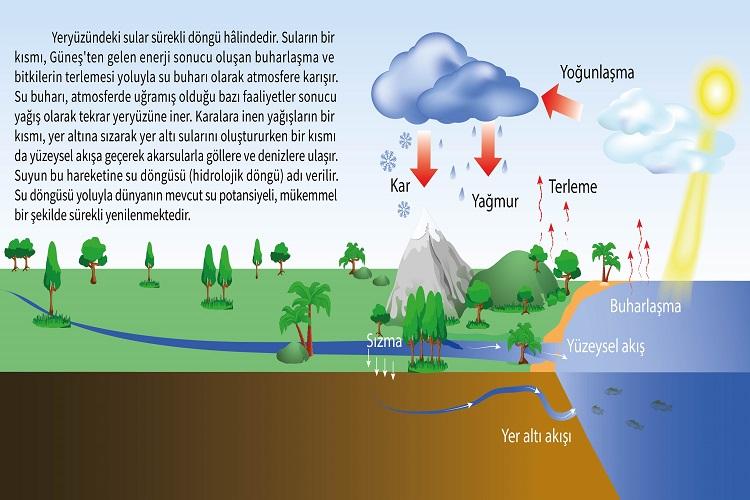 Nemin (Nem ve Yağış) Yağışa Dönüşümü