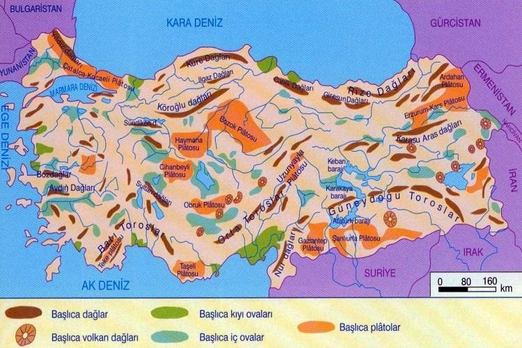Türkiye'nin Plato ve Ovaları