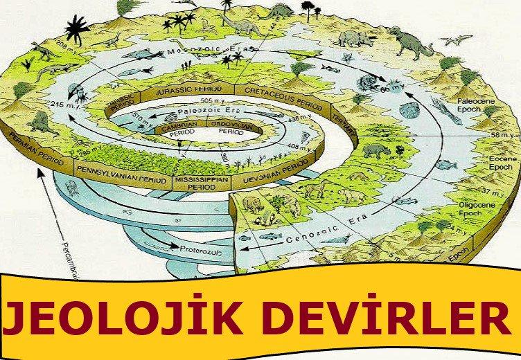 Jeolojik Zamanlar ve Özellikleri