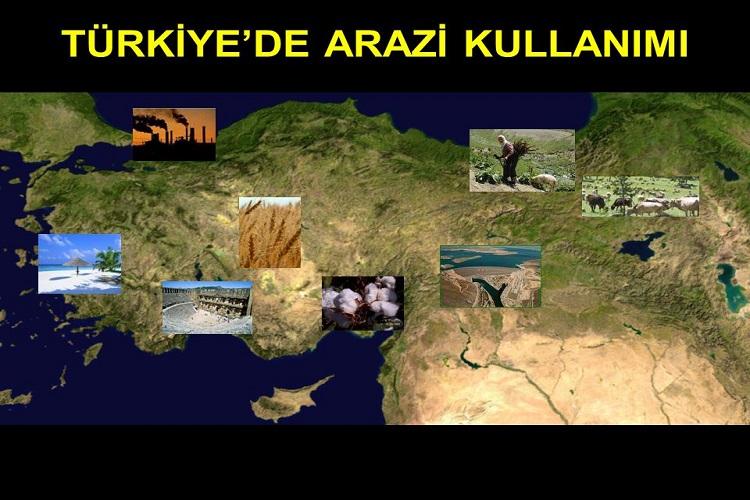 Türkiye'deki Yer Şekilleri İle Arazi Kullanımı