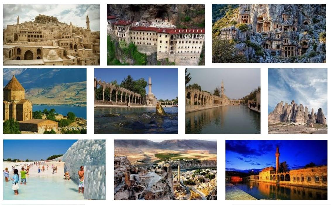 Türkiye'nin Turizm Değerleri Konusu